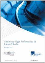 Achieving High Performance in Internal Audit - 1st edition