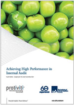 Achieving High Performance in Internal Audit - 4th edition