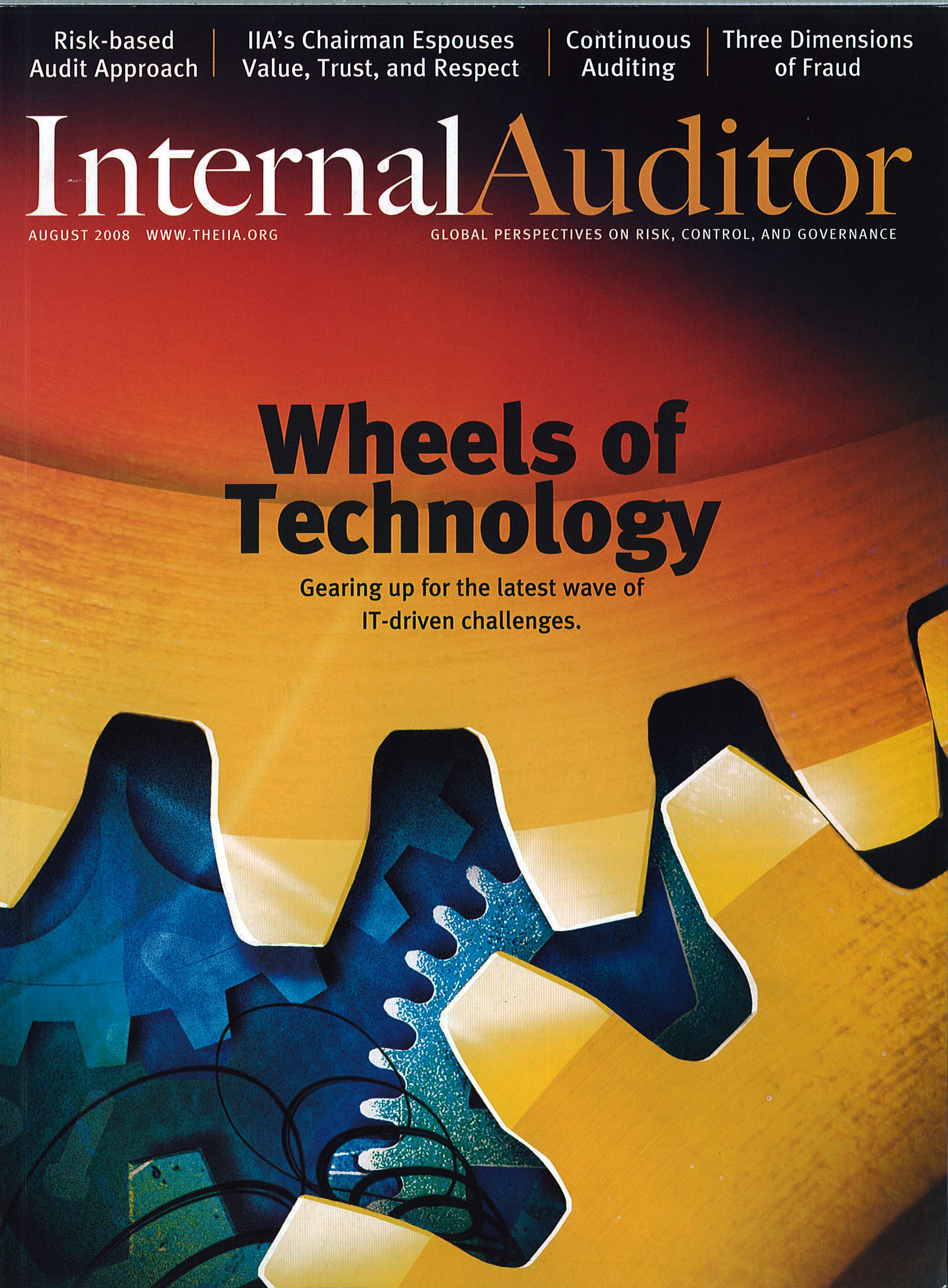 Internal Auditor magazine cover